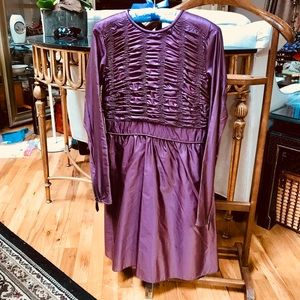 Burberry Classic silk dress Sz 36